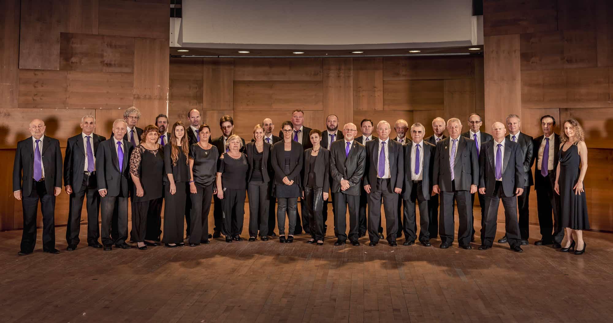 תמונה של נגני התזמורת