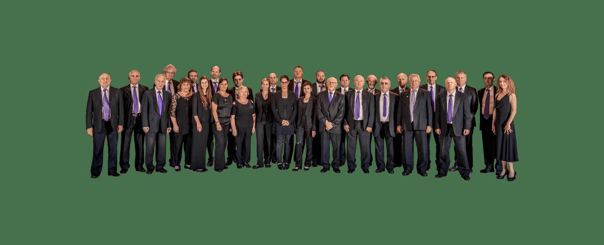 תמונה של חברי התזמורת